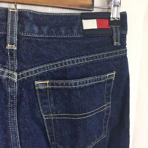 Vtg Tommy Hilfiger Flag Patch Jeans Flawless!